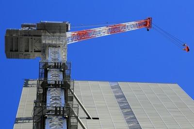 三菱東京UFJ銀行大手町ビルの解体工事
