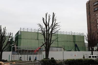 エイベックスビルの解体工事