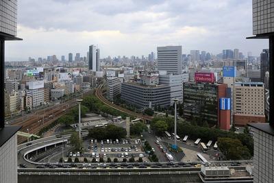 レム新大阪から見た大阪都心方面