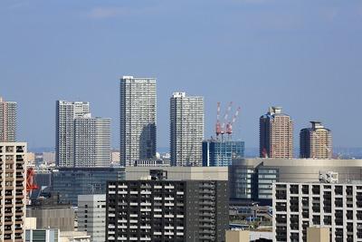 アクティ汐留からの眺め