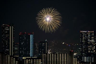 お台場レインボー花火2017