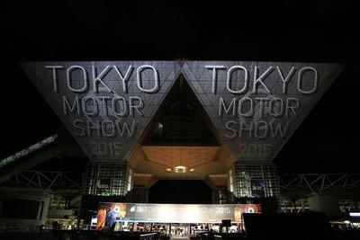 東京ビッグサイトのプロジェクションマッピング