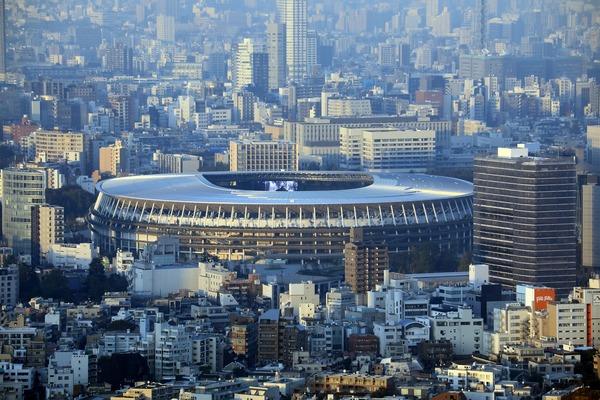 渋谷スカイから見た国立競技場