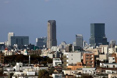 渋谷の超高層ビル群