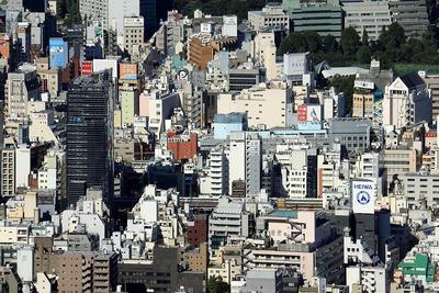 東京スカイツリーから見た東上野方面