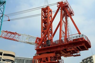 アトラスタワー曳舟のタワークレーン