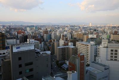 レム新大阪の客室からの眺め
