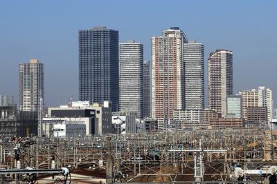 武蔵小杉のタワーマンション群