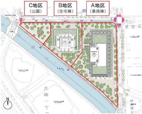 東五反田二丁目第3地区第一種市街地再開発事業