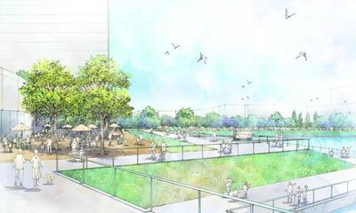 (仮称)豊洲地区1-1街区開発計画 完成予想図