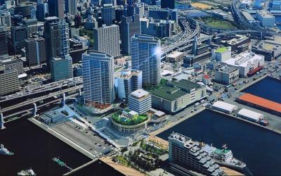 新港突堤西地区(第1突堤基部)再開発事業