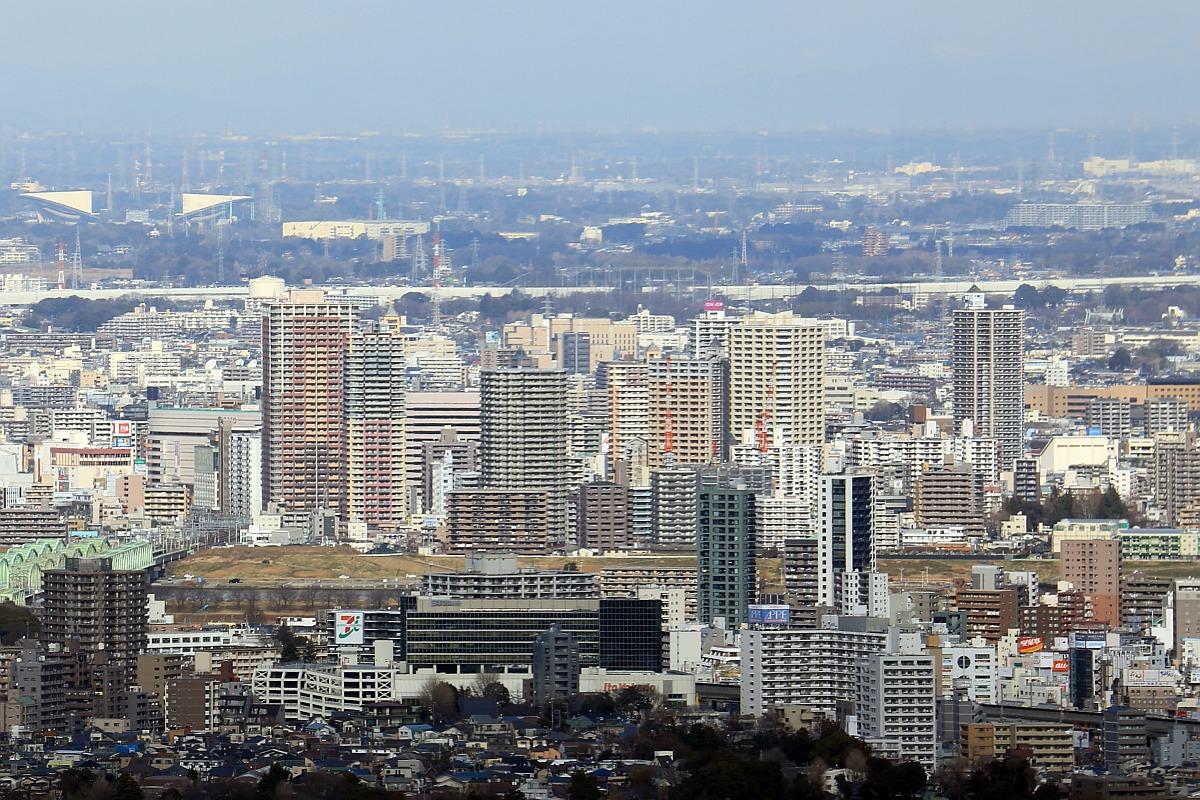 サンシャイン60から見た川口のタワーマンション群 見た川口のタワーマンション群です。 タワーマン