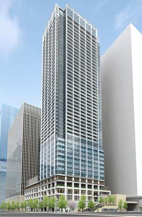 浜松町二丁目地区第一種市街地再開発事業 イメージパース