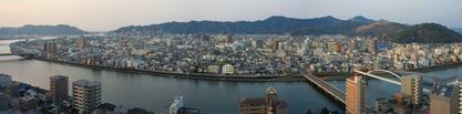 ホテル日航高知旭ロイヤルからの眺め