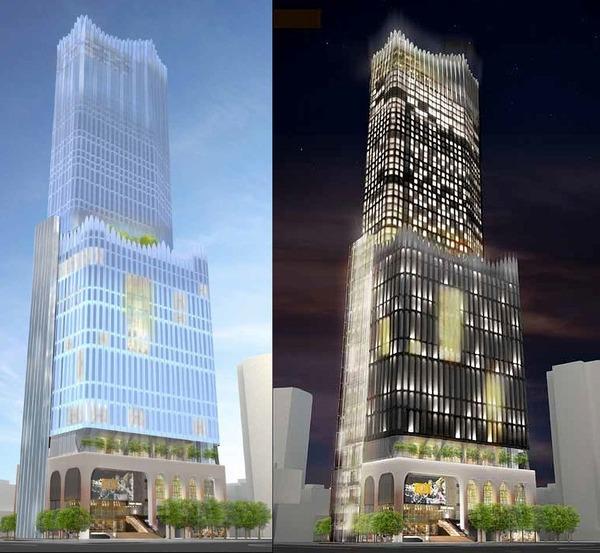 (仮称)歌舞伎町一丁目地区開発計画 完成予想図