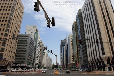 アブダビの高層ビル街