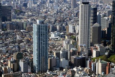 オペラシティから見た(仮称)西新宿HOMETOWN プロジェクト