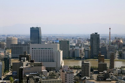 NEXT21(新潟)からの眺め