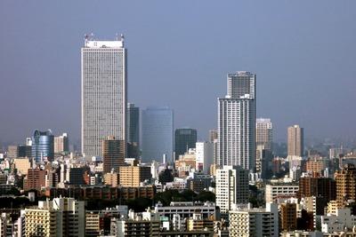 住友不動産 西新宿ビルから池袋方面の眺め