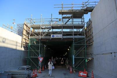 国道357号東京港トンネル入り口