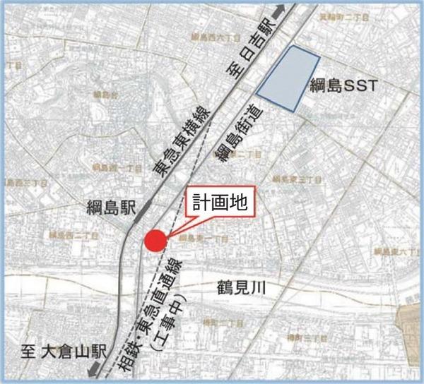 新綱島駅前地区第一種市街地再開発事業