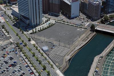 横浜市の新市庁舎の建設予定地