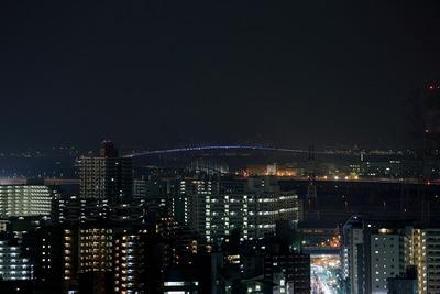 東京ゲートブリッジのライトアップ