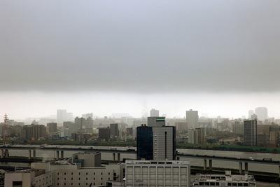 東京で大雨通過