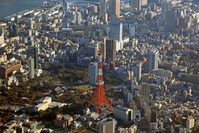 空撮 東京タワー