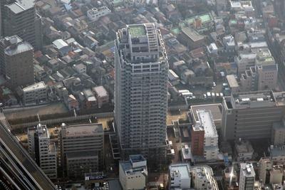 板橋ビュータワーの空撮