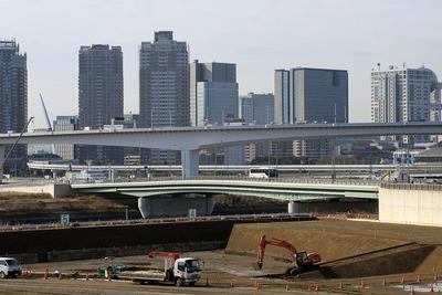 補助第315号線から見た富士見橋
