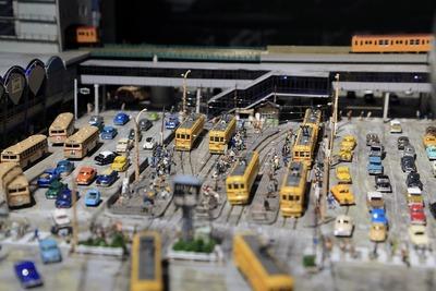 1964年頃の渋谷のジオラマ