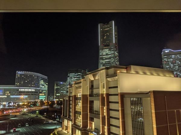 ザ・タワー 横浜北仲のパーティルームからの眺め