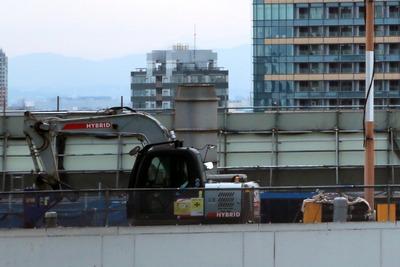 旧日本IBM本社ビル解体工事