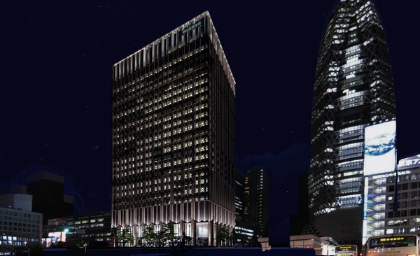 (仮称)西新宿一丁目地区プロジェクト イメージパース