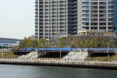 東電堀沿いの護岸整備