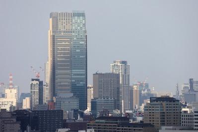 中目黒アトラスタワーから東京ミッドタウン方面