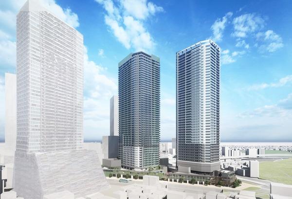 南池袋二丁目C地区第一種市街地再開発事業 イメージパース