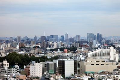 中目黒アトラスタワーから川崎方面