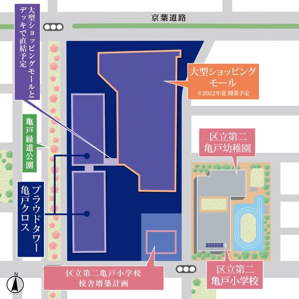 プラウドタワー亀戸クロス 概念図