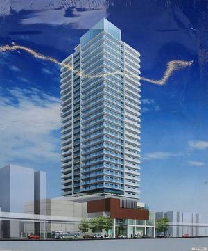 南小岩七丁目西地区第一種市街地再開発事業 完成予想図