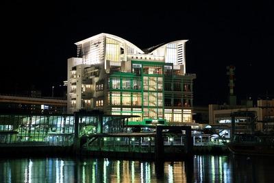 ノートルダム神戸のある夜景