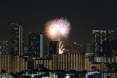 お台場レインボー花火2015