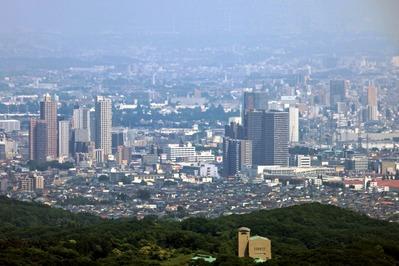 高尾山から橋本のタワーマンション群