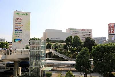津田沼駅前からの眺め