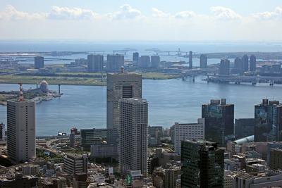 東京タワー有明方面の眺め