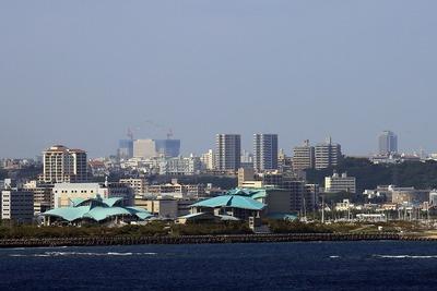 ザ・ビーチタワー沖縄から見た那覇
