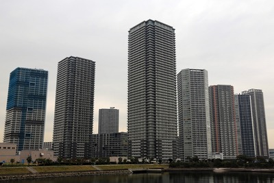 東雲のタワーマンション群