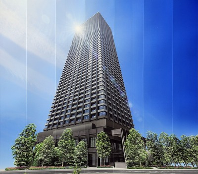 シティタワー武蔵小杉の完成予想CG