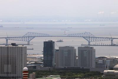 東京タワーから見た東京ゲートブリッジ